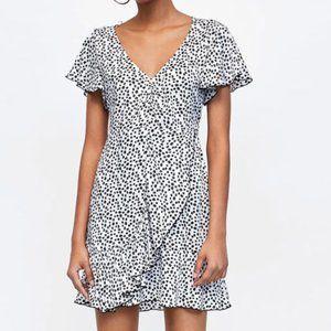 Sexy Little Ruffled Mini Dress